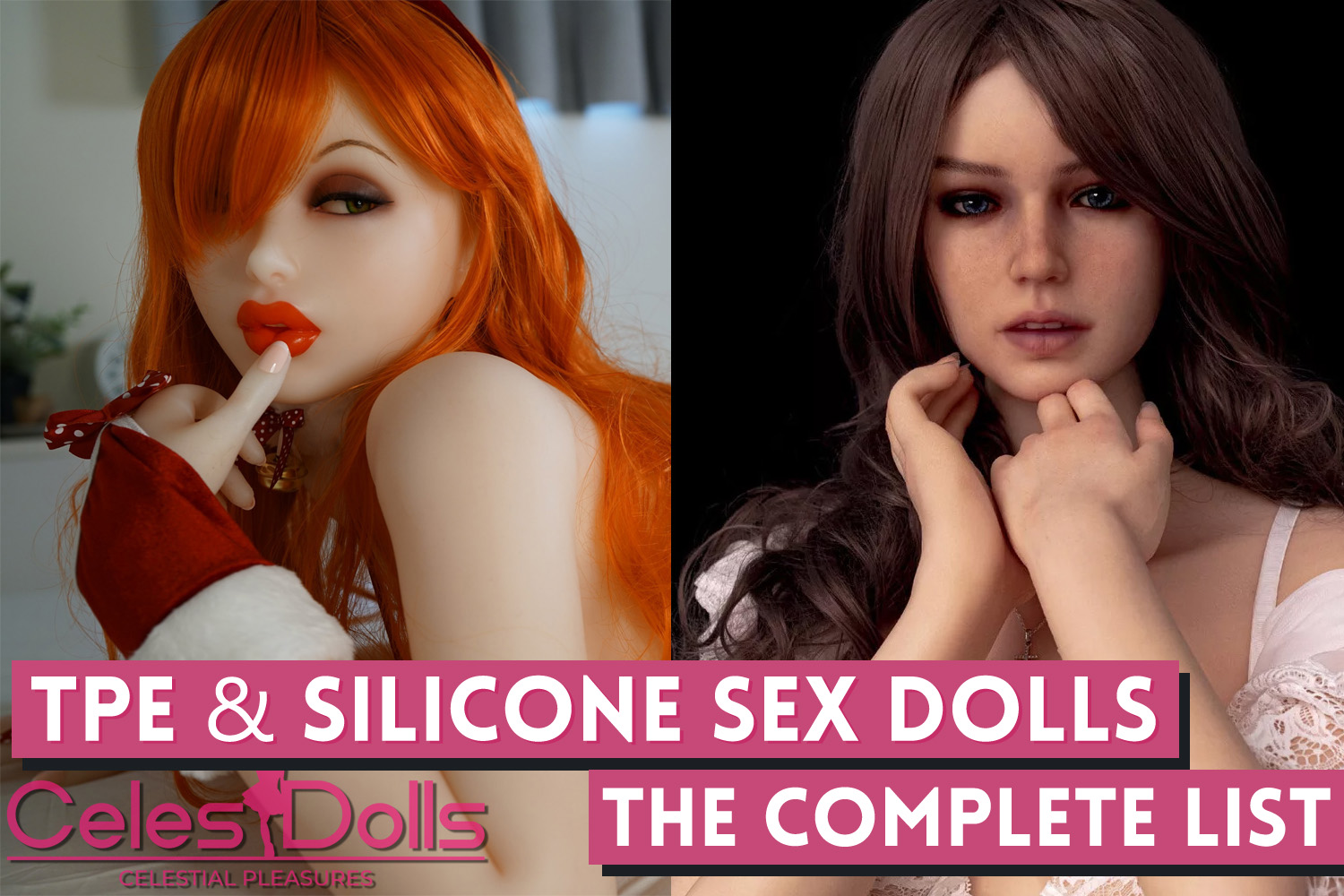 Complete List of Top TPE and Silicone Sex Doll Brands